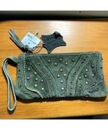 NWT de Bijenkorf wristlet genuine leather - $74.25