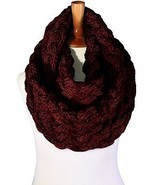 Basico Women Winter Chunky Knitted Infinity Scarf Warm Circle Loop Various - €10,72 EUR
