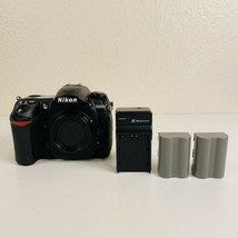 Nikon D200 10.2 MP Digital SLR Camera And batteries/charger - Black (Bod... - $93.50