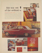 1962 Ford FAIRLANE 500 Sports Coupe Out of the Ordinary Print Ad  - $9.99
