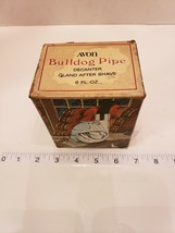 AVON Bulldog Pipe with O Land 6 oz. After Shave Bottle still full from 1972 - $18.75