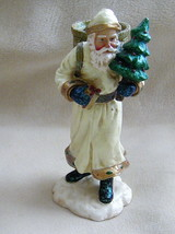 EUC Department 56 Resin Old World Santa Candle Taper Holder #56.47438 - $14.60