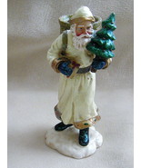 EUC Department 56 Resin Old World Santa Candle Taper Holder #56.47438 - $14.60