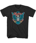 Foo Fighters-Blue Eagle Shield-X-Large Black  T-shirt - $16.44