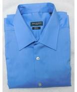 Van Heusen Blue Frost Slim Fit Flex Collar Stretch Dress Shirt 16 - 34-35 - $19.95