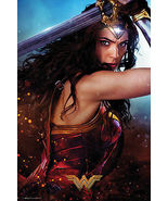 "WONDER WOMAN  MOVIE POSTER / PRINT (DEFEND / SWORD) (SIZE: 24"" x 36"")  - $20.00"
