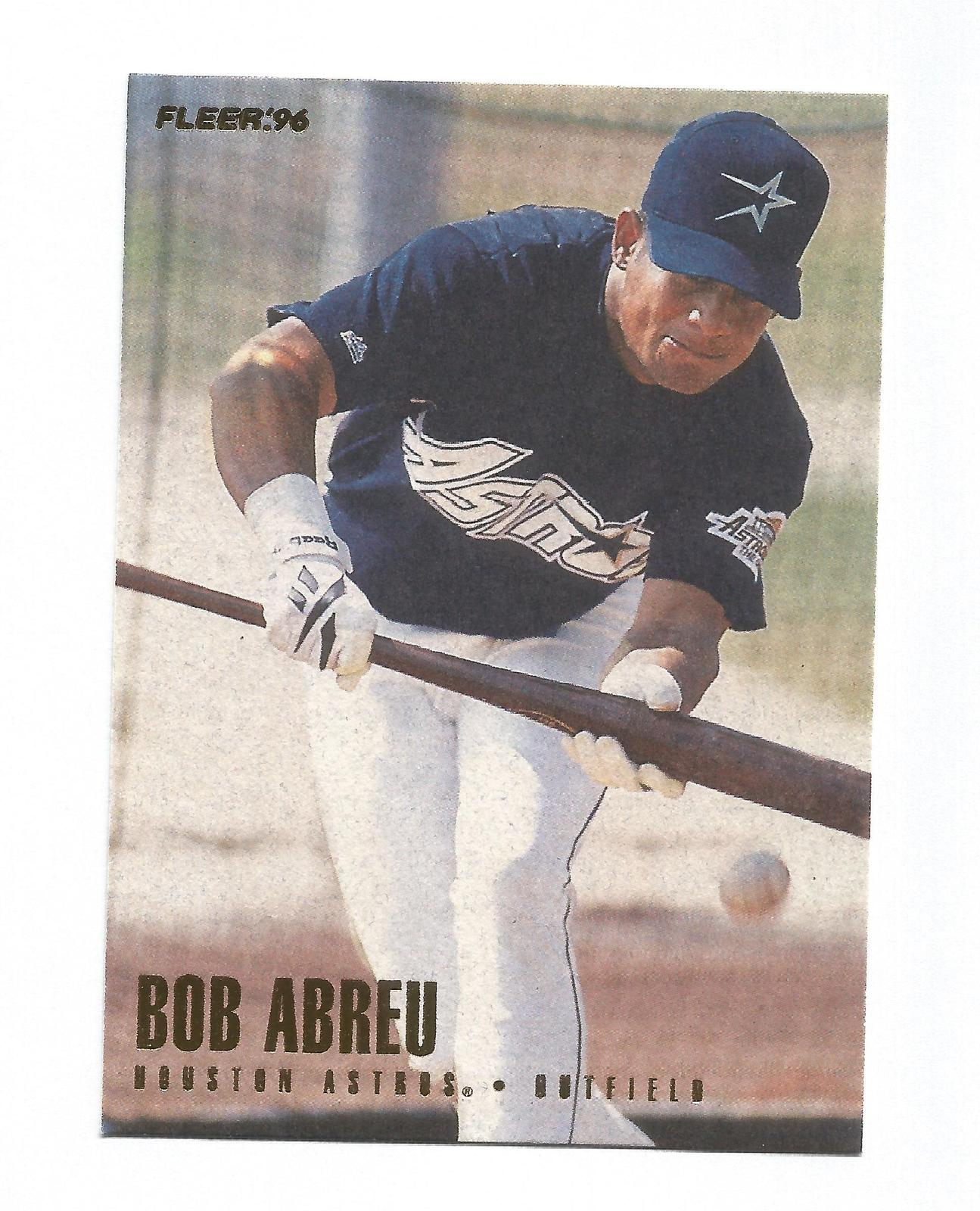 Bobby Abreu 1996 Fleer Update Rookie Card #U136 Houston Astros Free Shipping