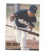 Bobby Abreu 1996 Fleer Update Rookie Card #U136 Houston Astros Free Ship... - $1.69
