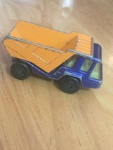 1975 Lesney Matchbox Superfast #23 Atlas Diecast Toy Dump Truck - $16.48