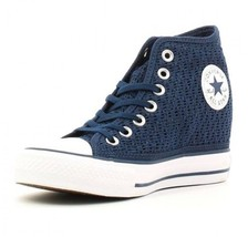 Converse All Star Chuck Taylor Lux Mid Dress Bl... - $57.95