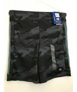 Boys Champion Athletic Wear Limo Black Camo Shorts 14/16 with Silicone B... - $9.74