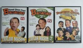 Lot of3 Good Clean Fun BANANAS Taylor Mason / Thor Ramsey 2004 DVD As Se... - $9.89