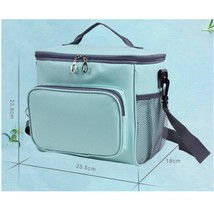 Lunch Bag Removable Shoulder Strap Box Insulated Pack Picnic Drink Food ... - $21.28