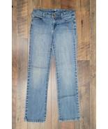 Style & Co Low Rise Denim Straight Leg Stretch Jeans Sz 4P - £9.44 GBP
