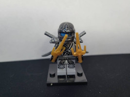 Custom zane titanium ninjago minifigure unbrand - $1.99