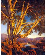 Maxfield Parrish Old White Birch 22x30 Hand Numbered Ltd. Edition Art De... - $81.09