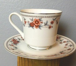 Sheffield Anniversary Cup and Saucer 2 Sets Retired Made in Japan - $10.00