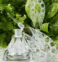 2 Vintage Czech Perfume Bottles~Signed~Daubers Intact~VERY RARE~Perfect~... - $549.99