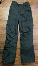 Slalom Black Snow Ski Pants Size: Small 28-32,  Inseam 30 nice! (Invento... - $19.79