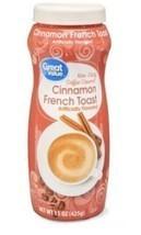Cinnamon Creamer - French Toast Powder Coffee Creamer 15oz Non Dairy - $6.99