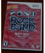 BRAND NEW FACTORY SEALED Wii Rock Band Track Pack, Volume 2, Guitar Hero... - $16.82