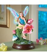 Fiber Optic Spring Fairy Tabletop Figurine - $19.95