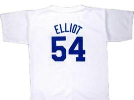 Jack Elliot Mr Baseball Movie Nagoya Dragons Jersey Button Down White Any Size image 2