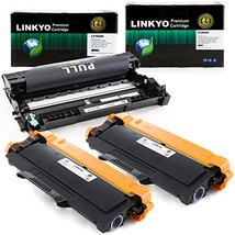 3-Pack LINKYO Replacement Toner and Drum Set for Brother TN450 TN420 DR420 2 Hig - $81.39