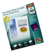 250 Avery Sheet Premium Protectors. Top Load Heavy Duty Clear Documents ... - $28.76