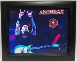 Anthrax custom framed guitar pick display J1 - $75.95
