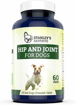 Stanley's Favorite Hip And Joint For Dogs - 60 Chewable Tablets - Exp 3/... - $9.85