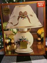 Lenox Holiday Tartan Candle Lamp - $25.00