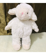 "First Impressions Lamb Sheep 12"" Plush White Cream Pink Nose Lovey Macy's  - $44.55"