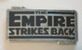 Star Wars The Empire Strikes Back Metal 3-D Belt Buckle - $24.18