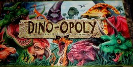 Dino Opoly Board Game-Complete - $26.00