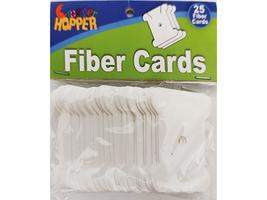Cropper Hopper Fiber Cards, 25 Pieces #FC25