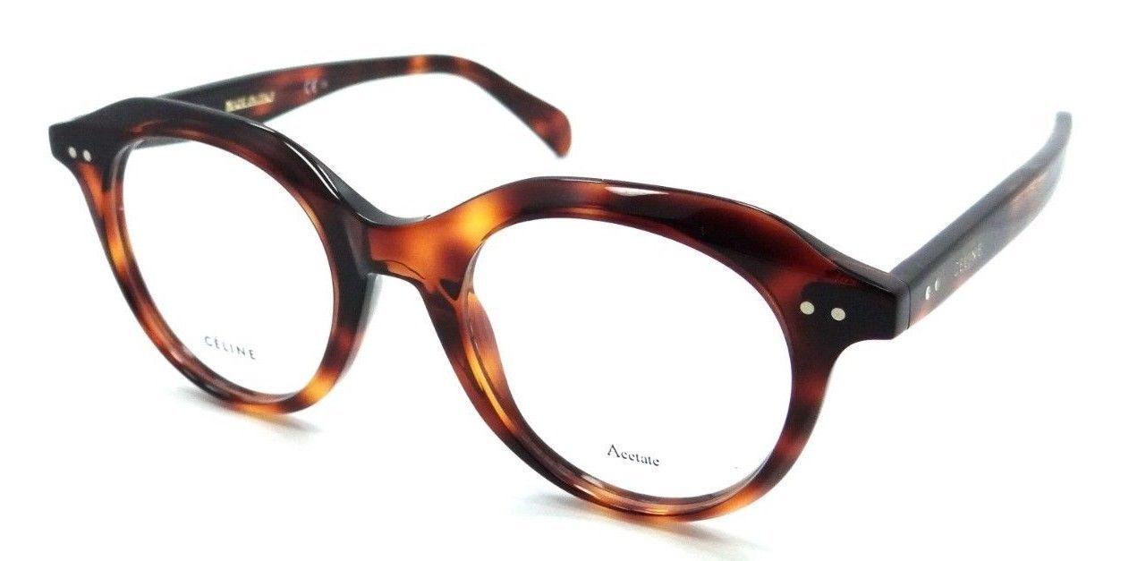 Celine Rx Eyeglasses Frames CL 41458 086 45-20-145 Dark Havana Made in Italy