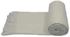 Crema de punto con flecos 127x180cm Manta - $45.57