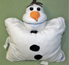 Disney Pillow Pets OLAF Frozen Plush Stuffed Animal Large Cuddly Soft SNOWMAN  - $14.03
