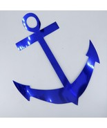 Anchor Mylar Cut-Out Shapes Confetti Die Cut 15 pcs  FREE SHIPPING - $6.99