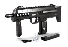 Ausini Police Swat MP7 Submachine Assault Rifle Weapon Style Lego Toys - $55.00