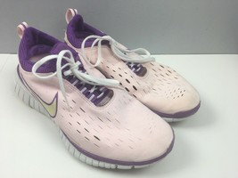 Nike Free 5.0 Womens 9 Light Pink Purple Sneakers Shoes - $28.97
