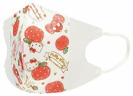 three-layer structure non-woven fabric mask Hello Kitty MSKS3 10 pieces - $14.69