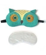 3D Cute Owl Eye Mask With Reusable Gel Pad, Cold Hot SPA Therapy For Dr... - $22.88