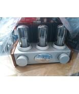 LifeLong Classic AM/FM Radio - Nostalgic Light-up Vacuum Tube Model 2002  - $49.49