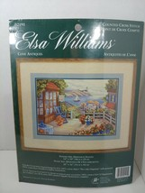 Elsa Williams Counted Cross Stitch Kit Cove Antiques 02191 Porch water v... - $64.34
