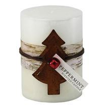 Peppermint Rustic Candle - $9.00