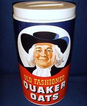 Quaker Oats Cookie Jar•Canister•1877-1977•100th Annv•Limited Edition•Reg... - $34.99