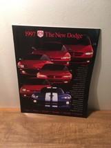 1997 Dodge Full Line Viper Neon Intrepid Avenger Brochure - $8.90