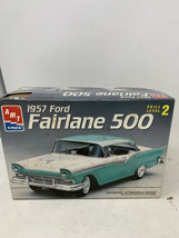 AMT Ertl 1957 Ford Fairlane 500 Model Car Kit 1/25 Scale #8028 - $19.34